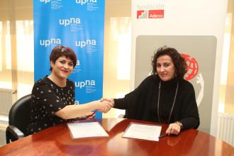 Marta Basterra y Cristina Bayona