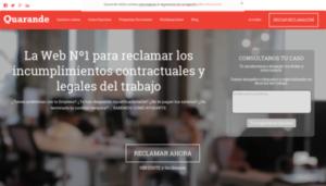 Imagen web quarande.es
