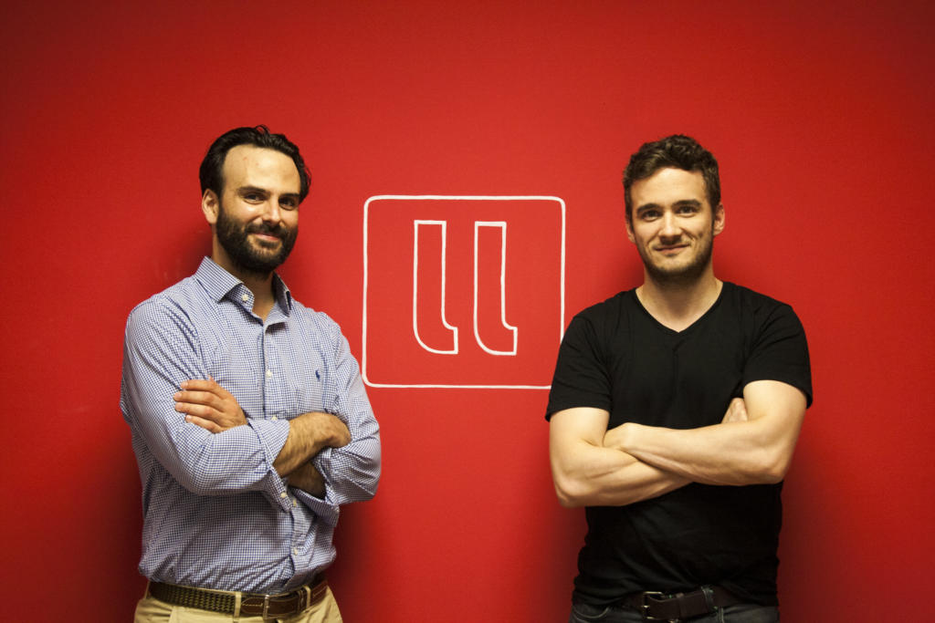 llollo_Hans Christ, CEO (dcha) y Alejandro Vigaray, COO (izqda)
