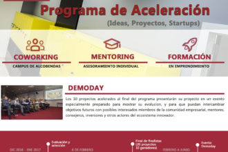 Cartel Convocatoria HUB Emprende